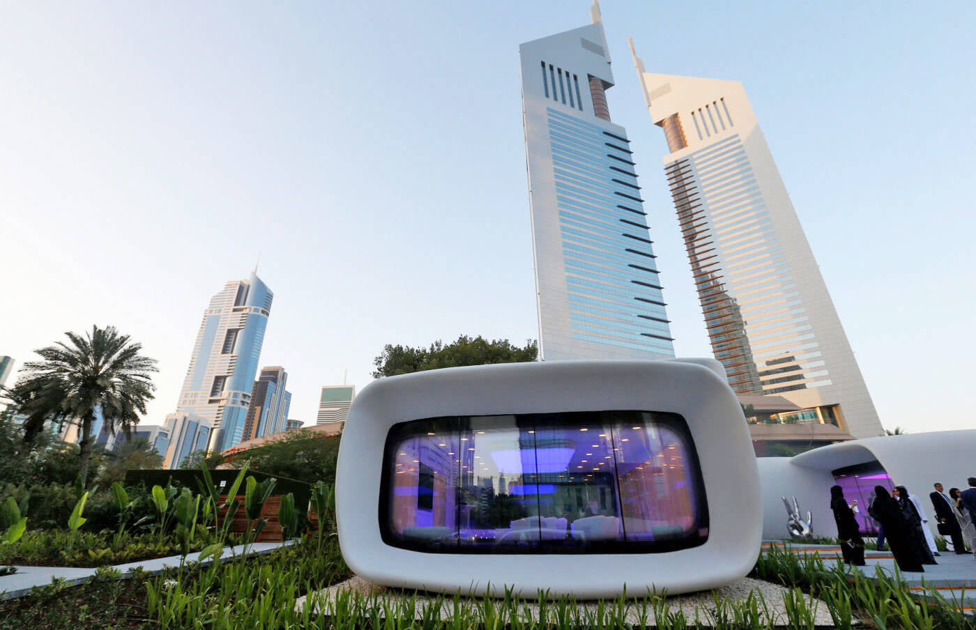 Dubai's Latest Sustainability Move: Have 25% Of All New Buildings Be 3D Printed By 2025
