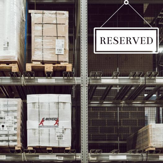 Reserved Storage Space