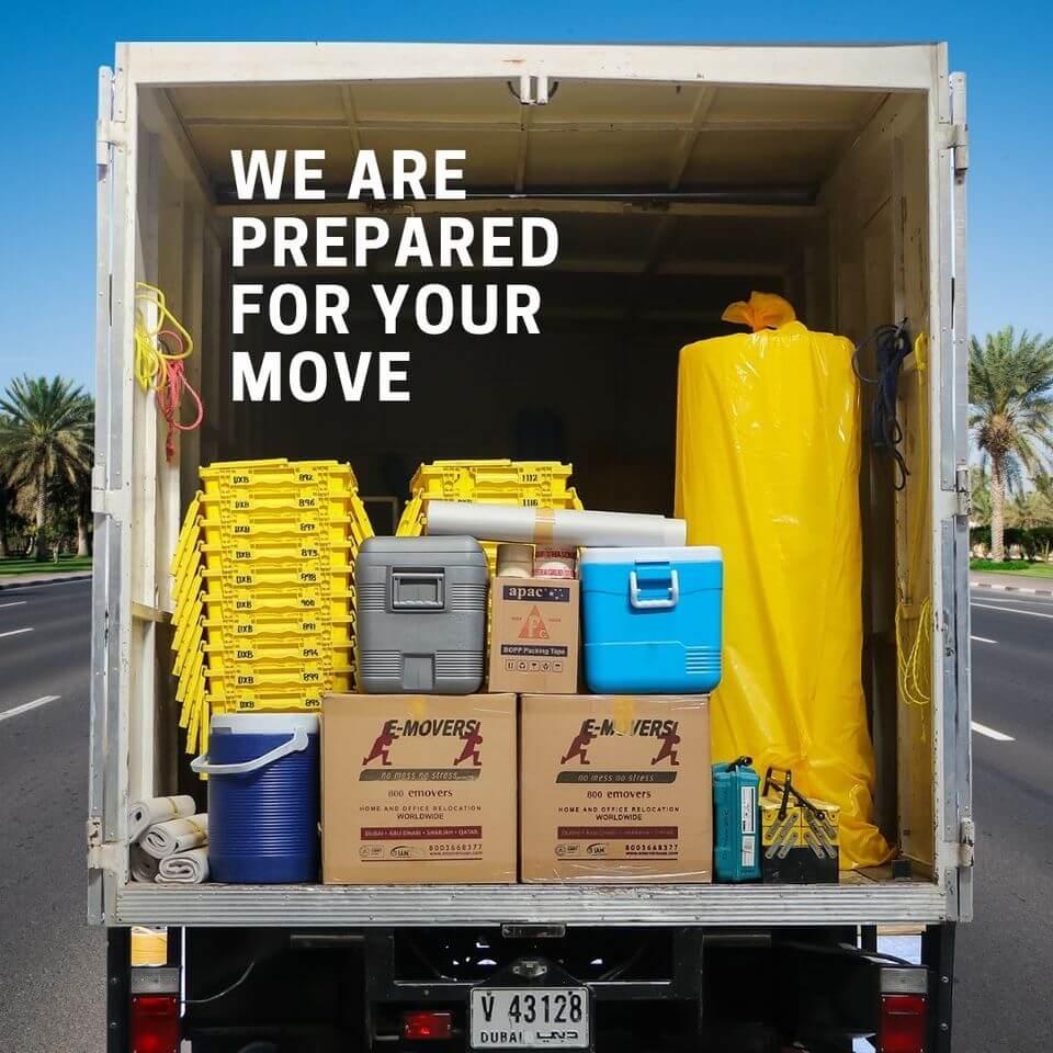 Packed Trucks