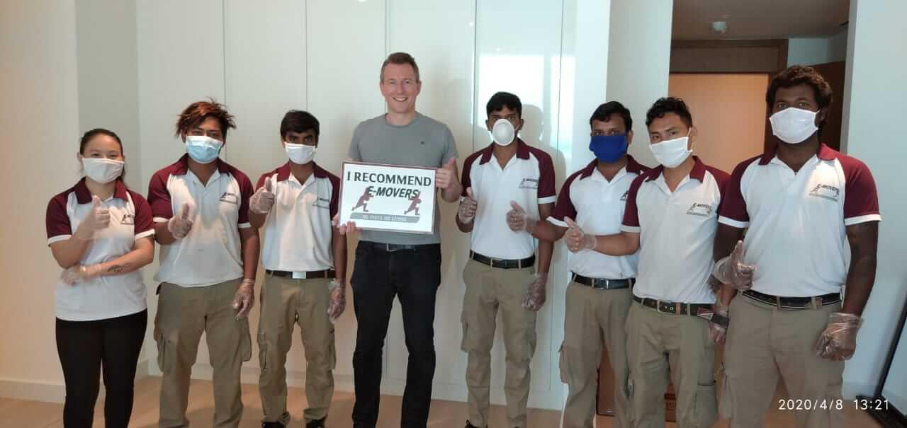 Home Relocation in UAE – Robert