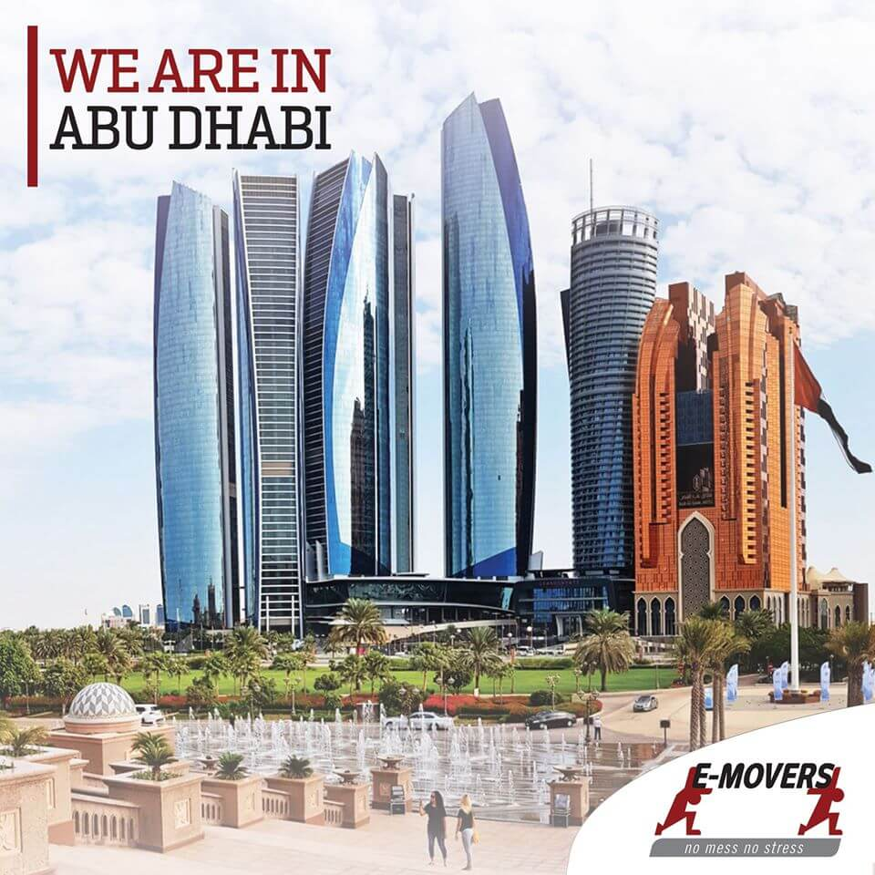 We are in Abu Dhabi