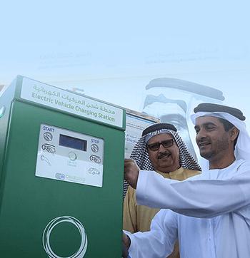 DEWA installs two Green Charger Stations at Expo Dubai