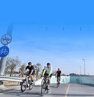 New cycling underpass at Dubai's Al Qudra