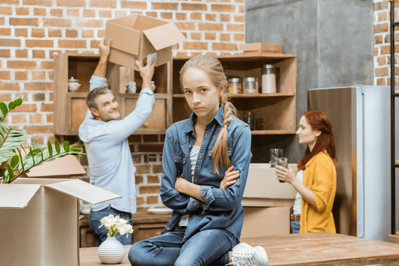 Managing the emotions of moving home