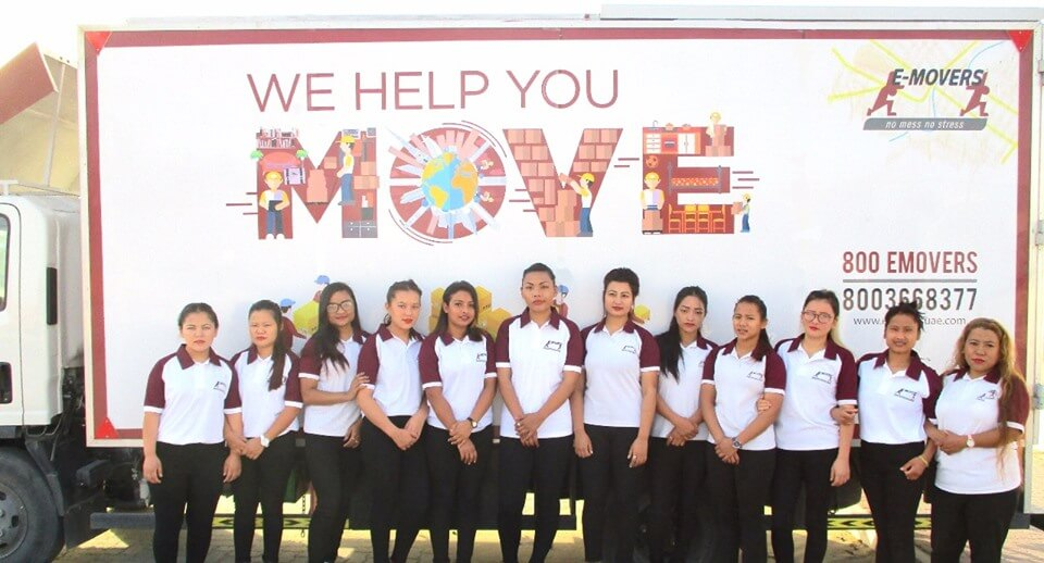 E-Movers Female packing team features in The Mover Magazine