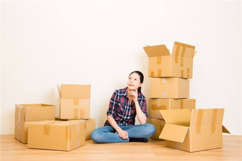 What to do with the empty cardboard boxes after relocation